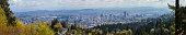 City of Portland Oregon Panorama