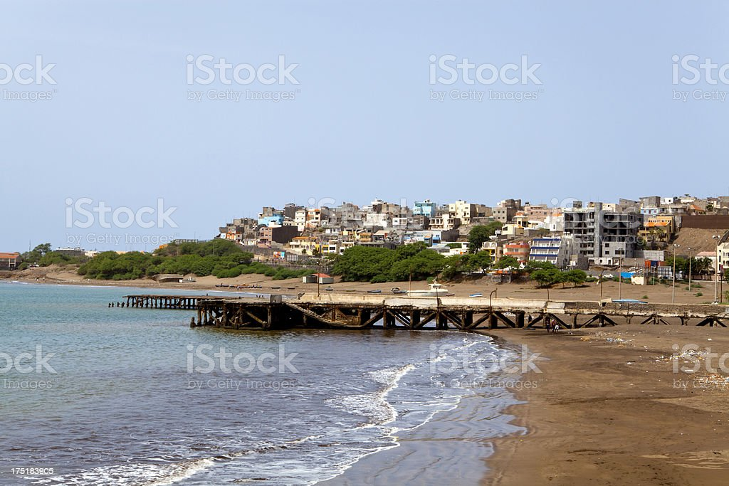 City of Praia stock photo