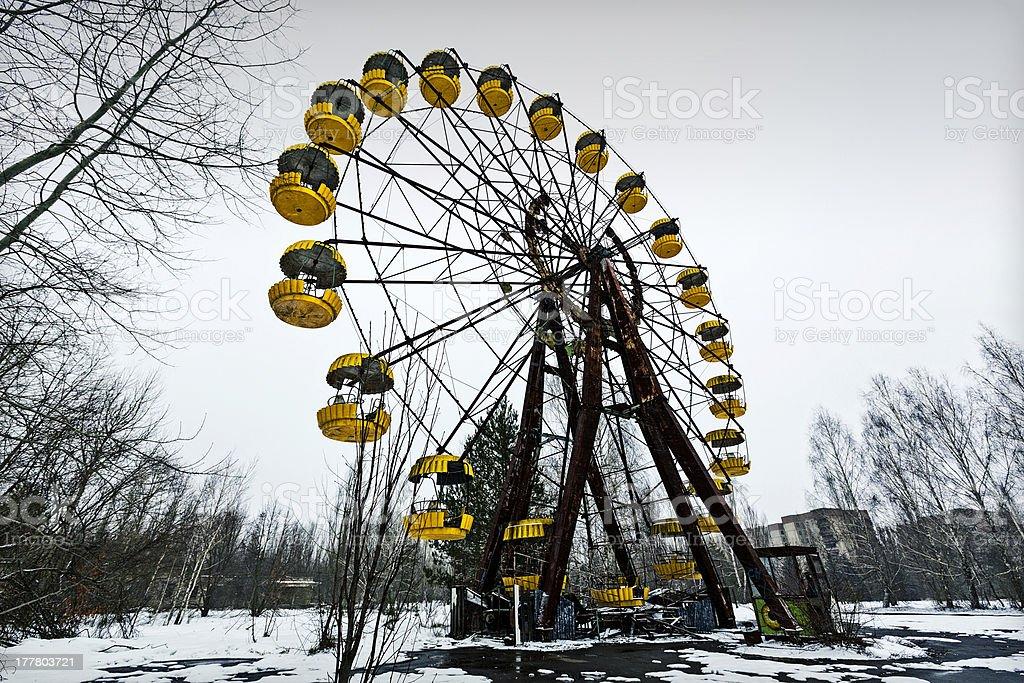 City of Pripyat stock photo