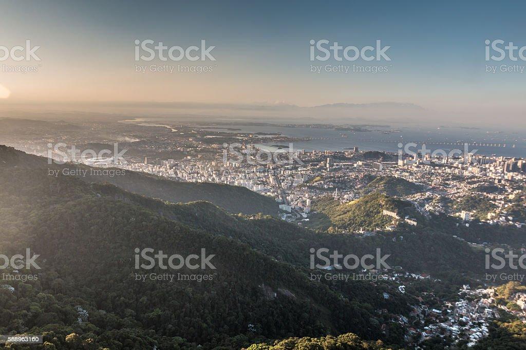 City of Rio de Janeiro stock photo