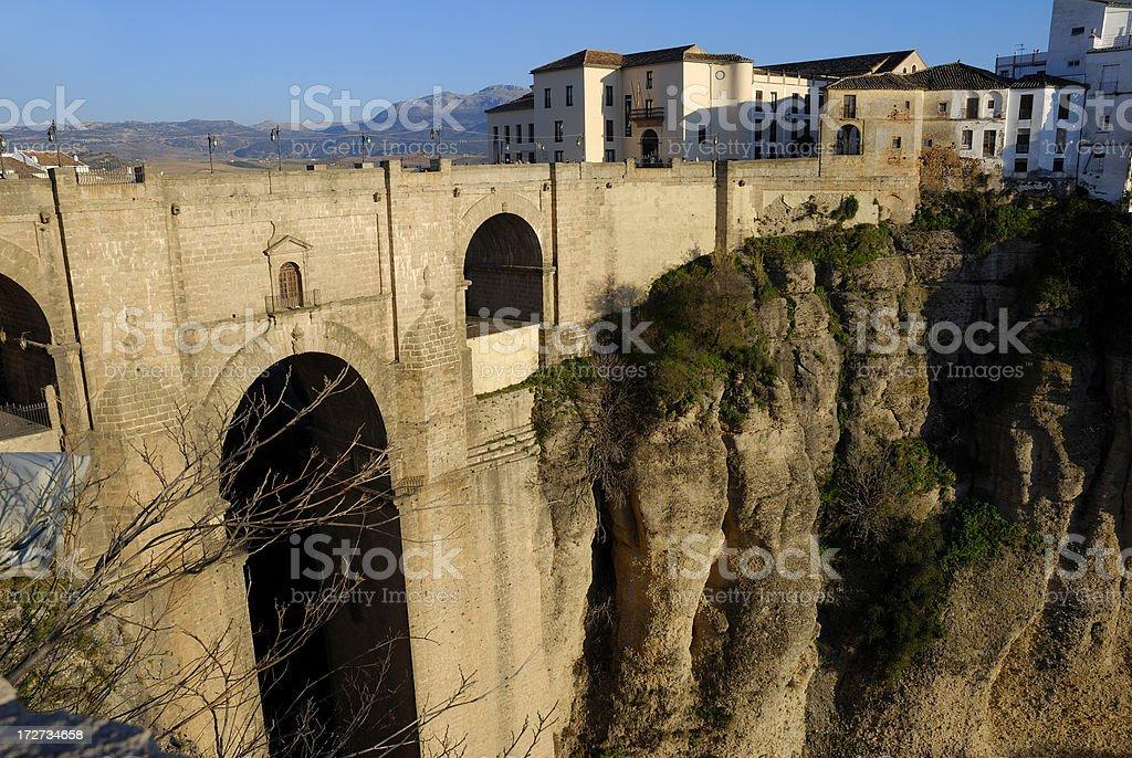 City of Ronda, Spain stock photo