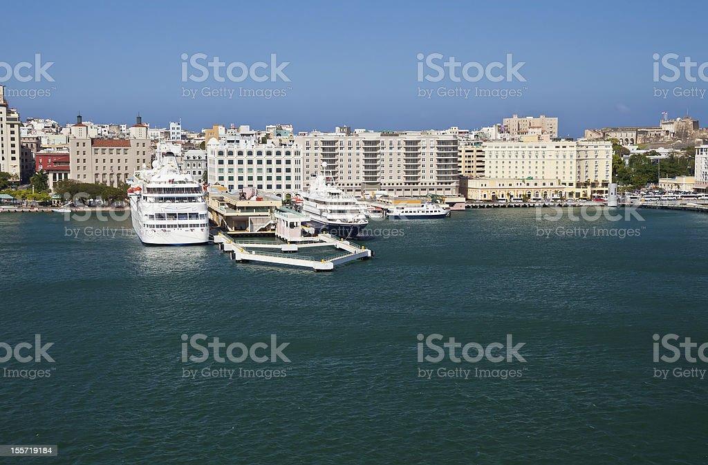City of San Juan, Puerto Rico stock photo