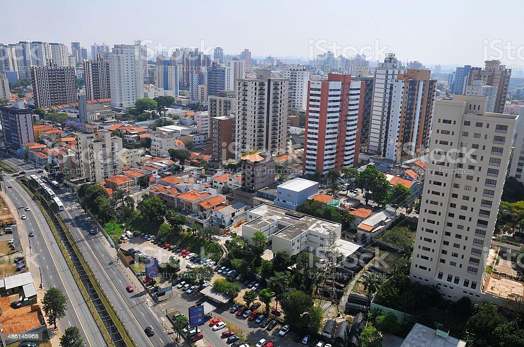 City of Santo Andre stock photo
