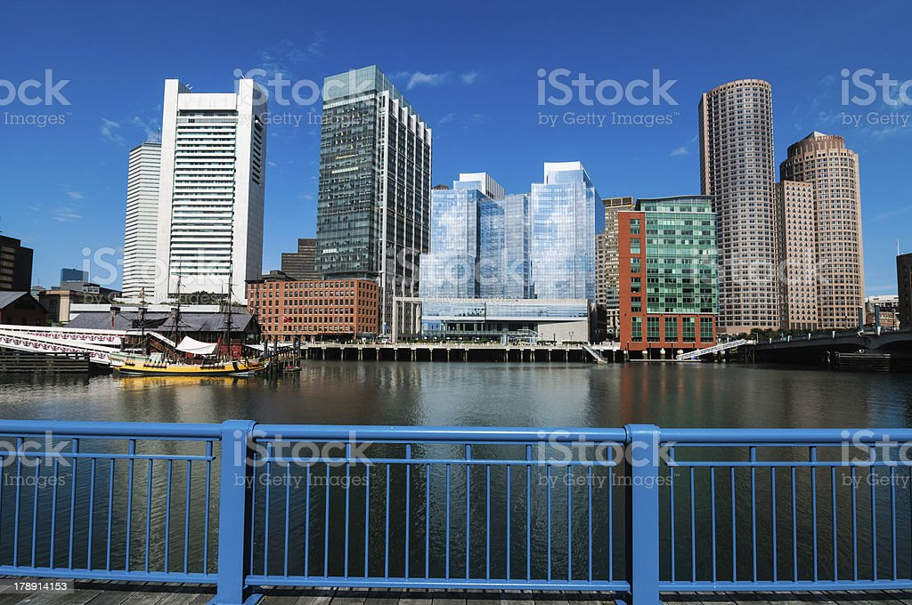 City of Steel and Glass stock photo