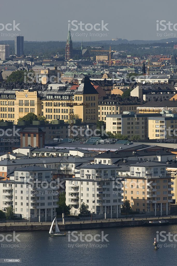 City of Stockholm stock photo