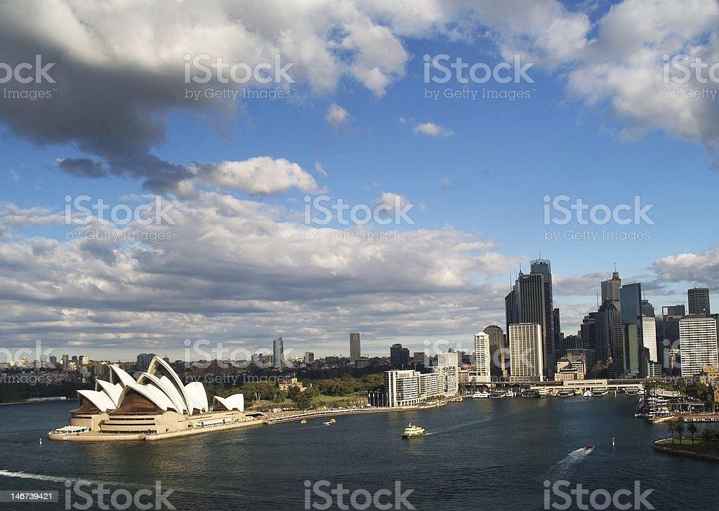 City of Sydney royalty-free stock photo