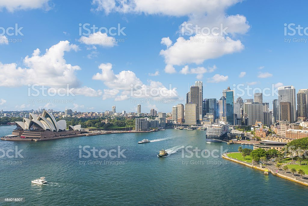 City of Sydney stock photo