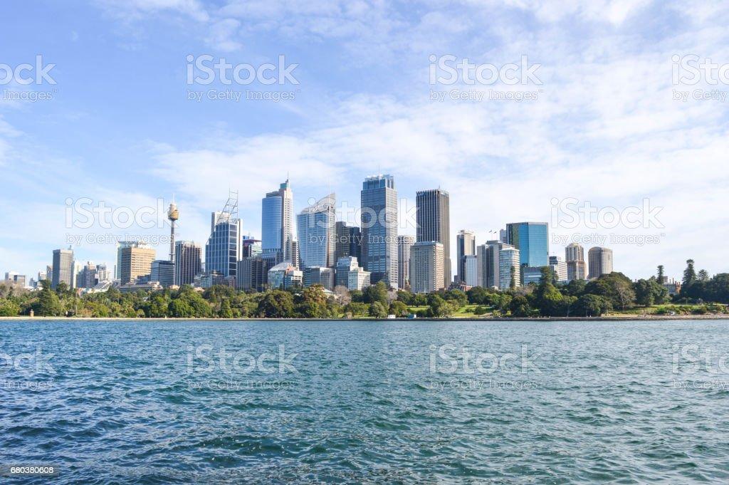 City of Sydney stock photo