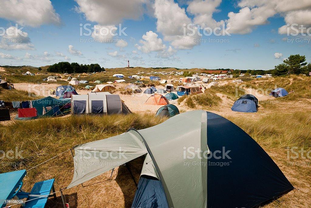 City of Tents stock photo