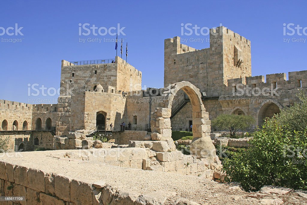 City of the king David, Jerusalem, Israel. royalty-free stock photo