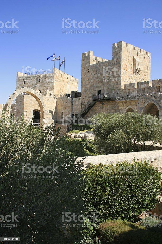 City of the king David, Jerusalem, Israel. royalty-free stock photo