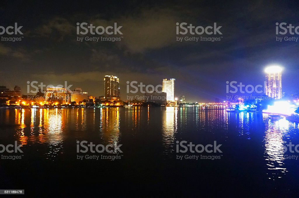City of the Nile stock photo