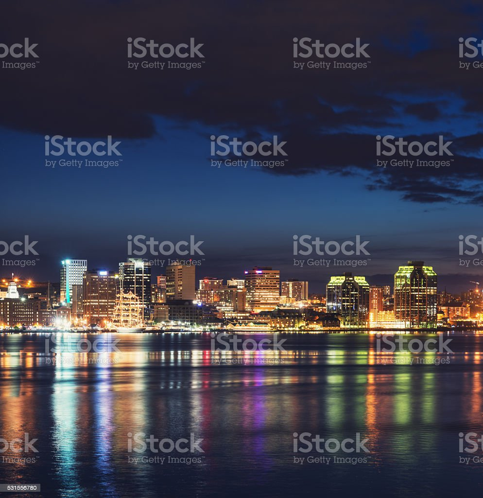 City of the Sea stock photo