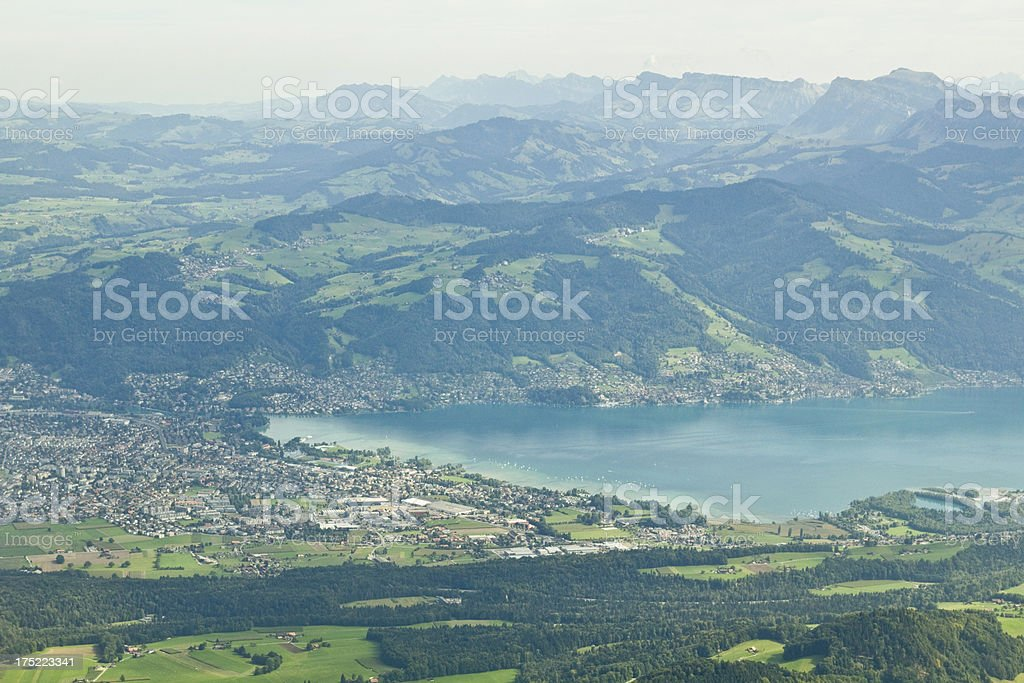 City of Thun royalty-free stock photo