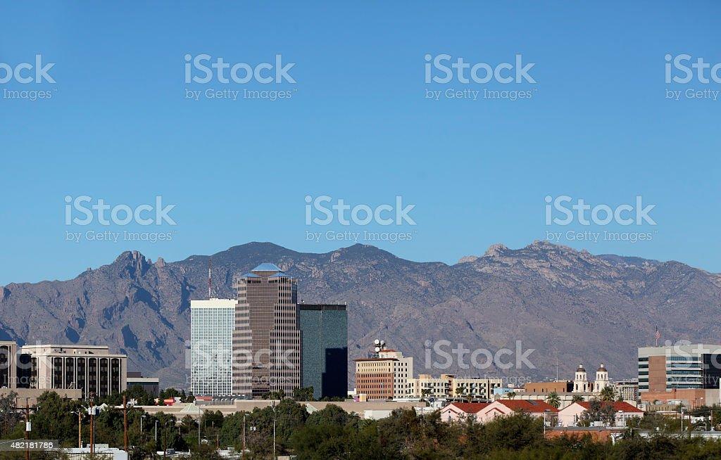 City of Tucson Downtown, AZ stock photo