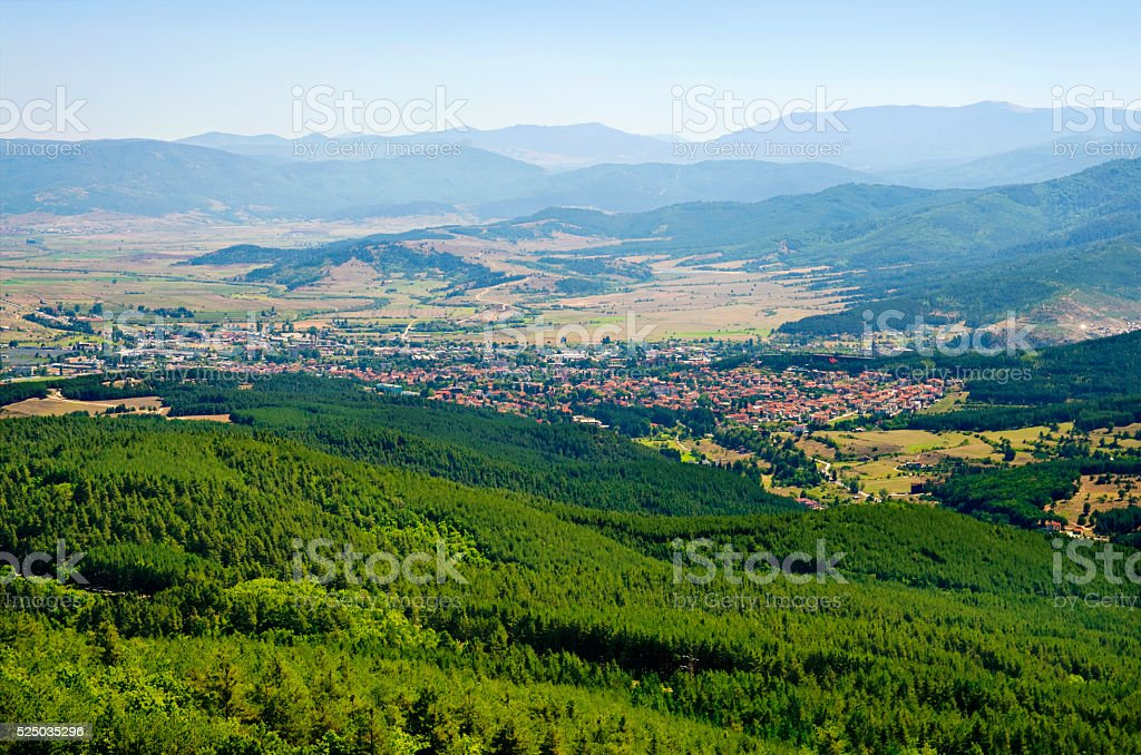 City of Velingrad royalty-free stock photo