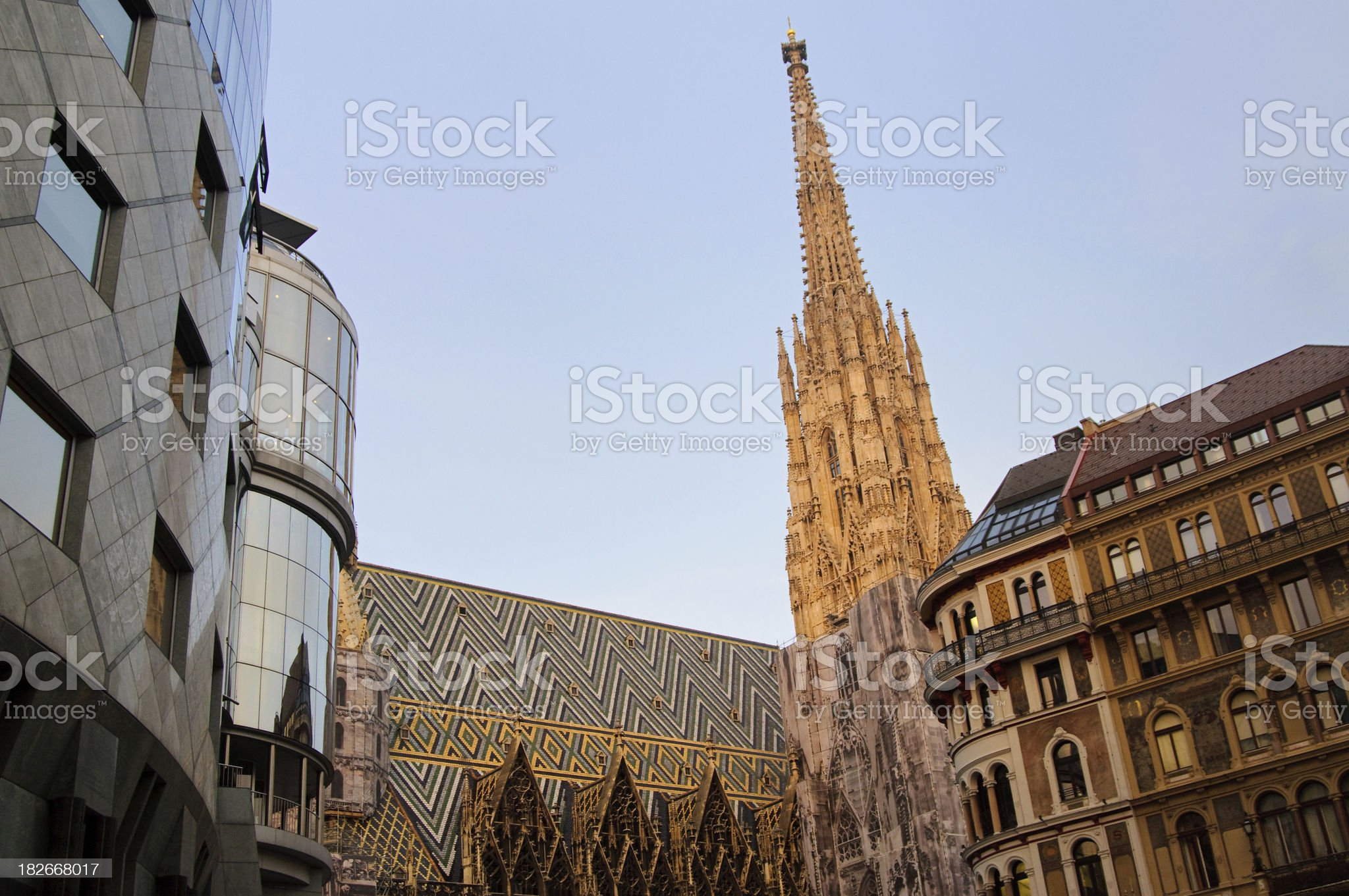 City of Vienna royalty-free stock photo