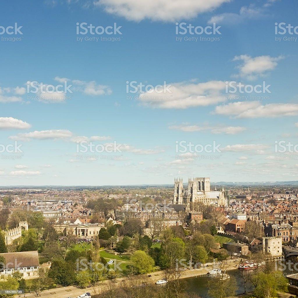 City of York Skyline stock photo