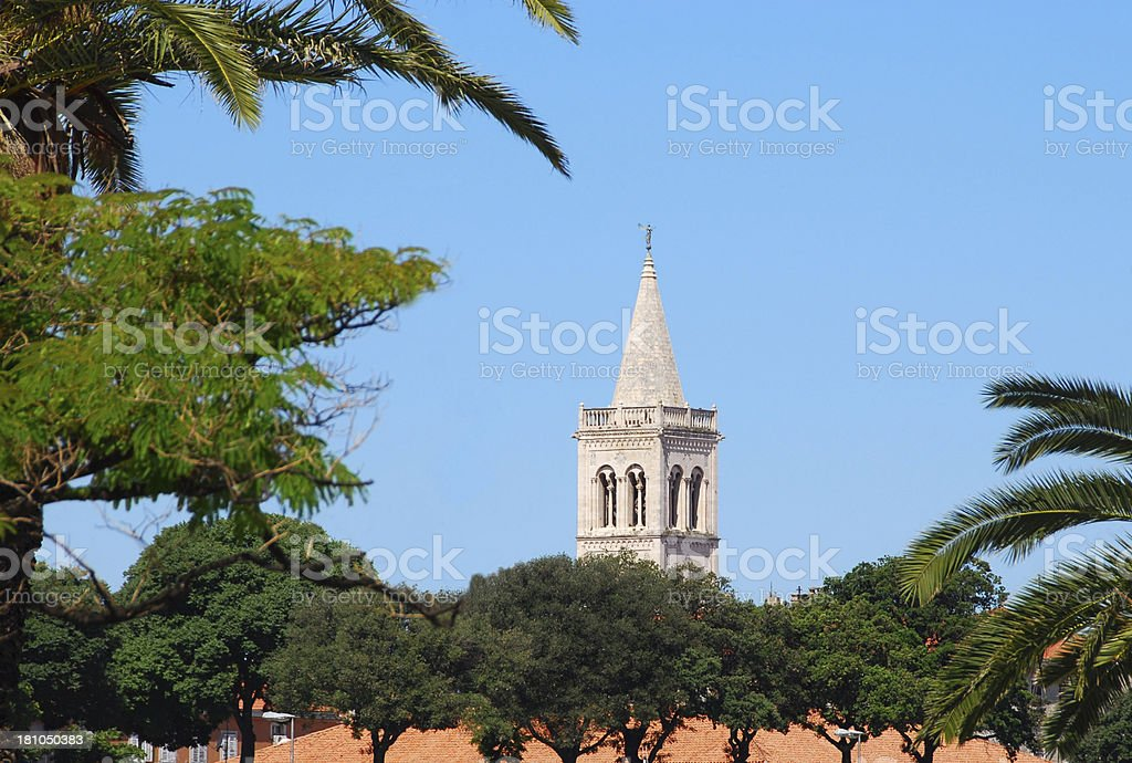 City of zadar royalty-free stock photo