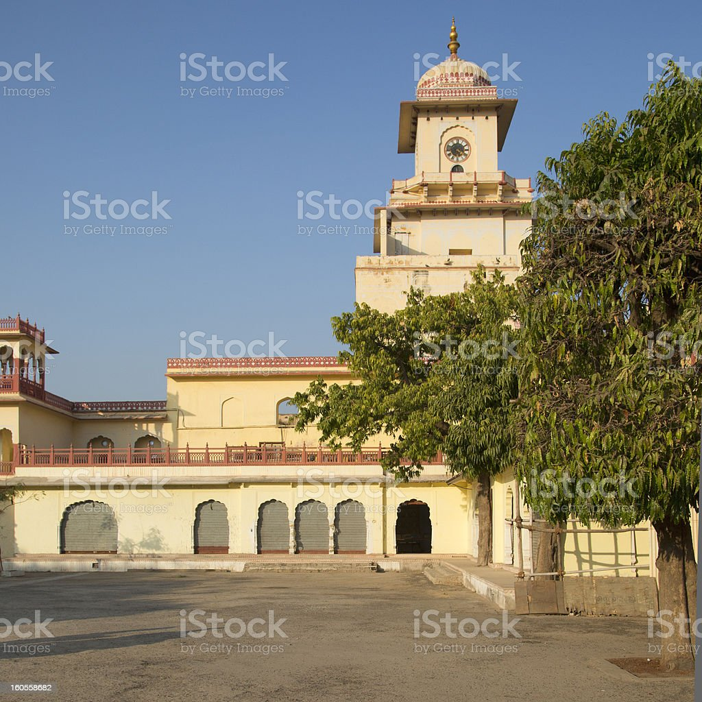 City Palace in Jaipur India royalty-free stock photo