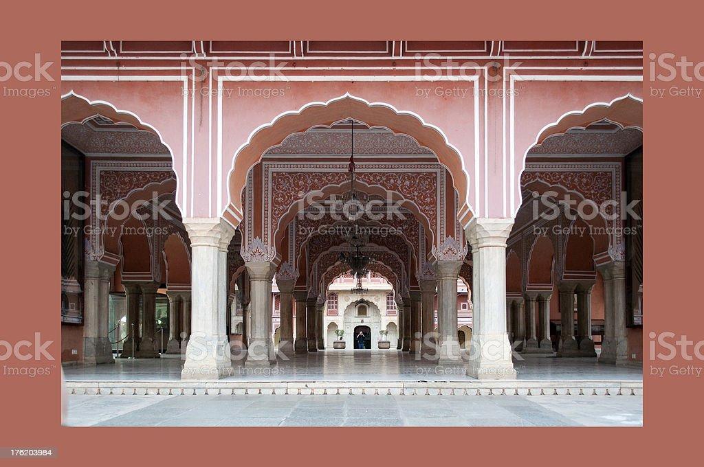 City Palace Museum royalty-free stock photo
