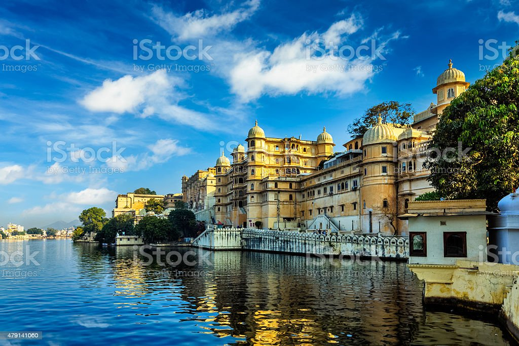City Palace. Udaipur, India stock photo