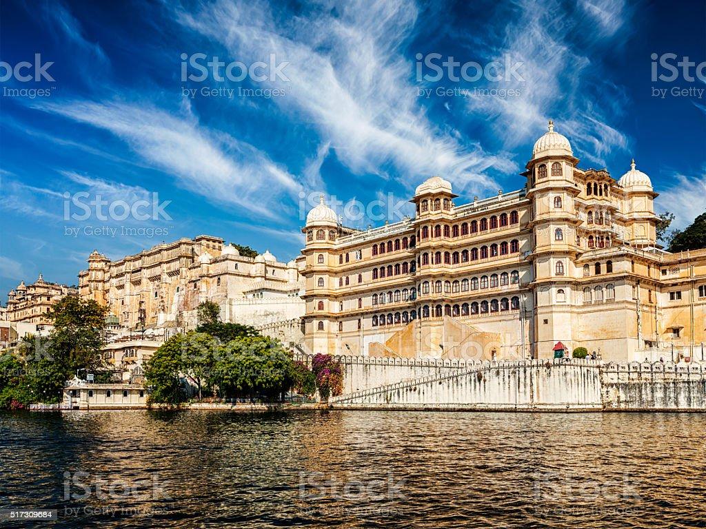 City Palace, Udaipus, Rajasthan stock photo