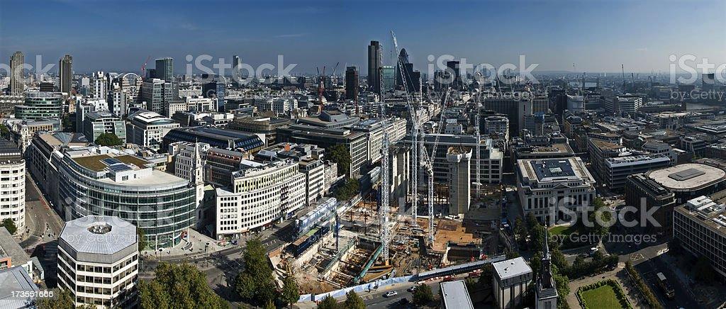 City Panorama royalty-free stock photo