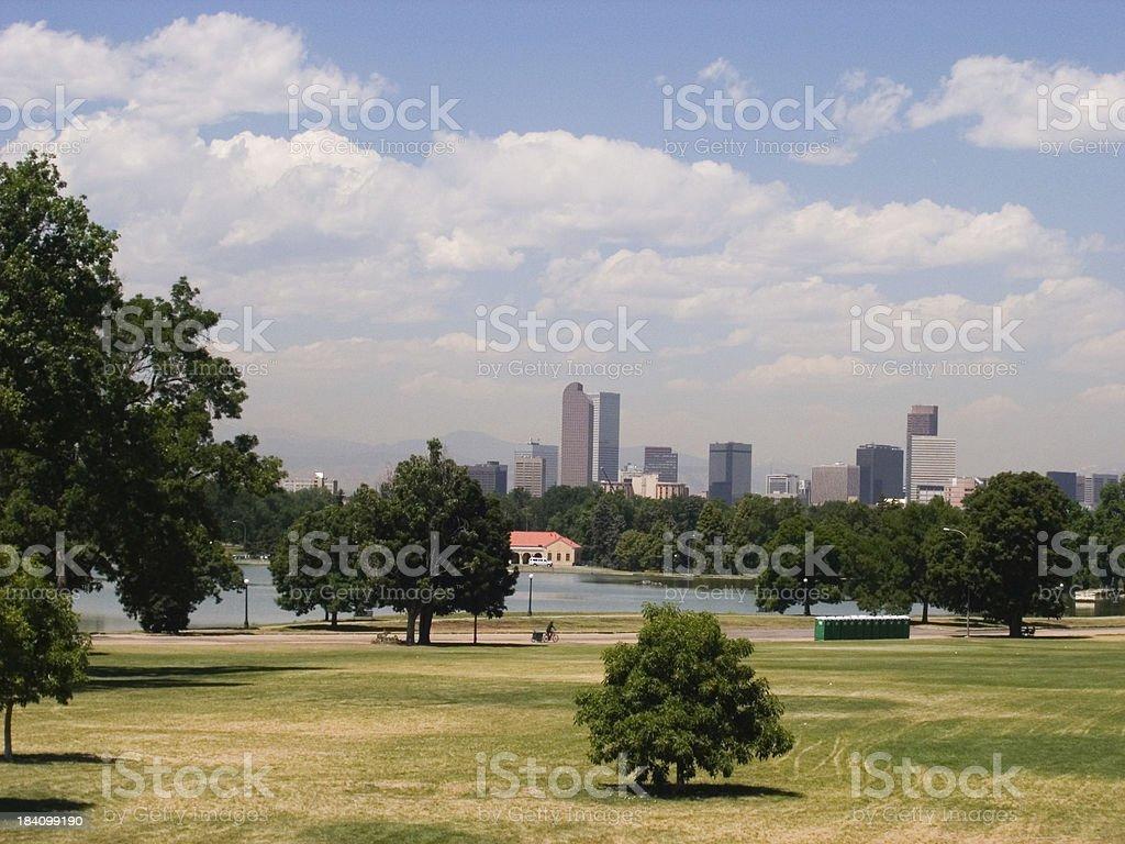 City Park 2 royalty-free stock photo
