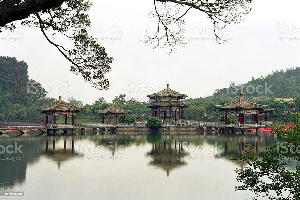 City Park in China stock photo