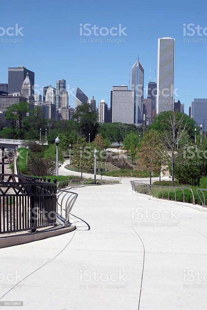 City Park royalty-free stock photo