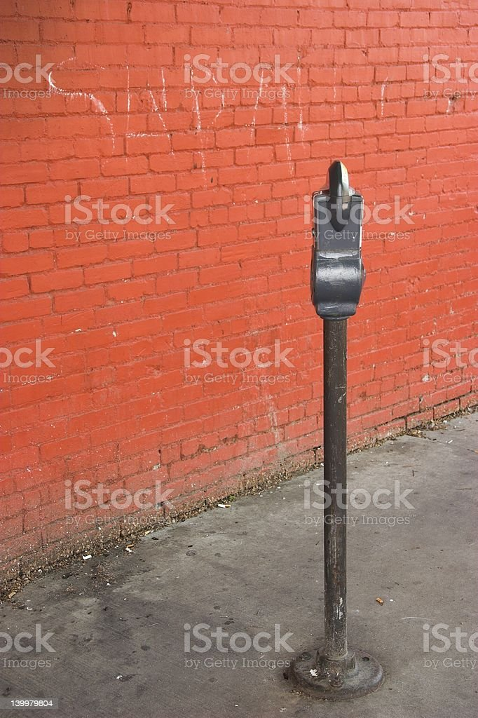 City Parking Meter stock photo