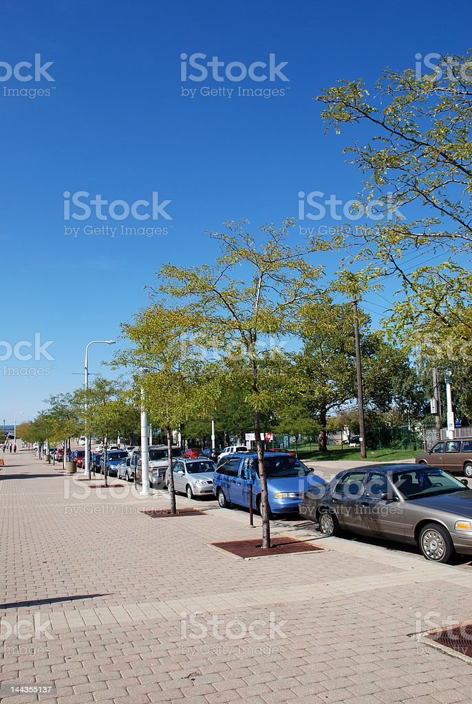 City Parking royalty-free stock photo