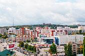 City Penza, top view