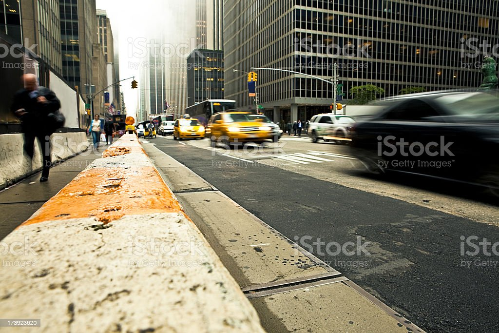 city perspective royalty-free stock photo