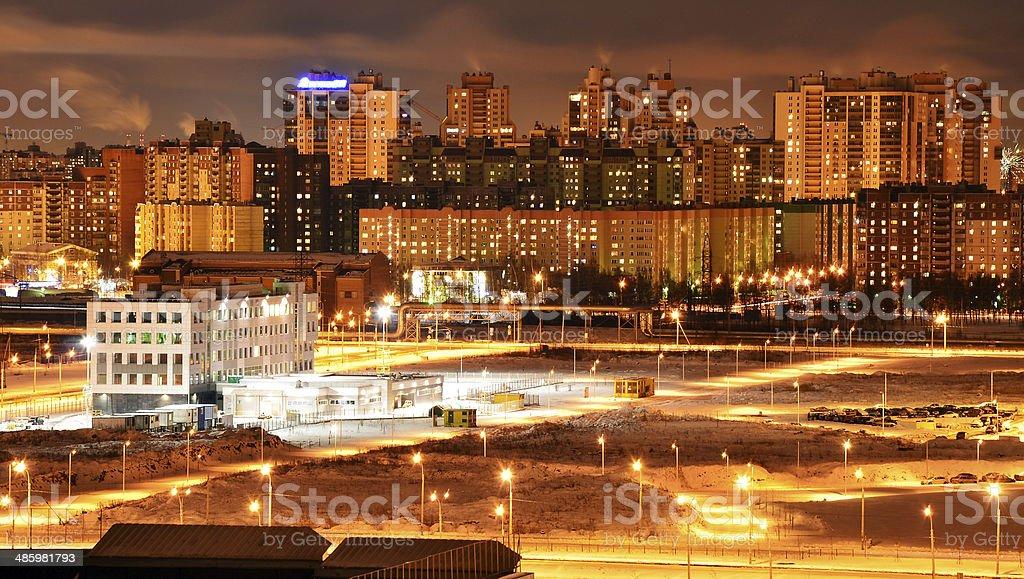 Cidade de foto de stock royalty-free