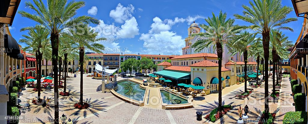 City Place West Palm Beach stock photo