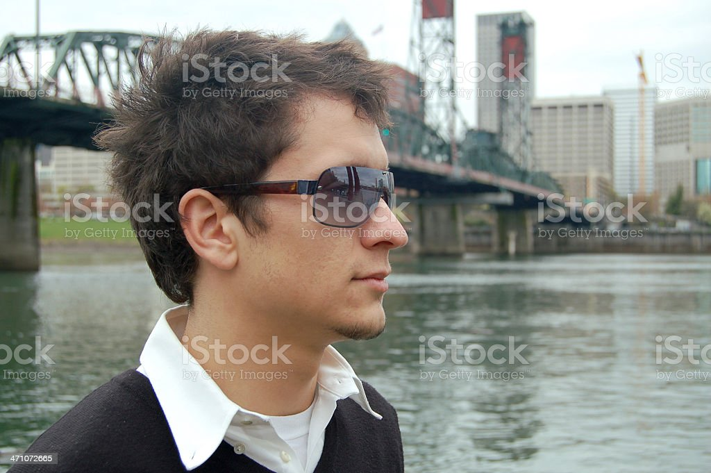 City Portrait stock photo