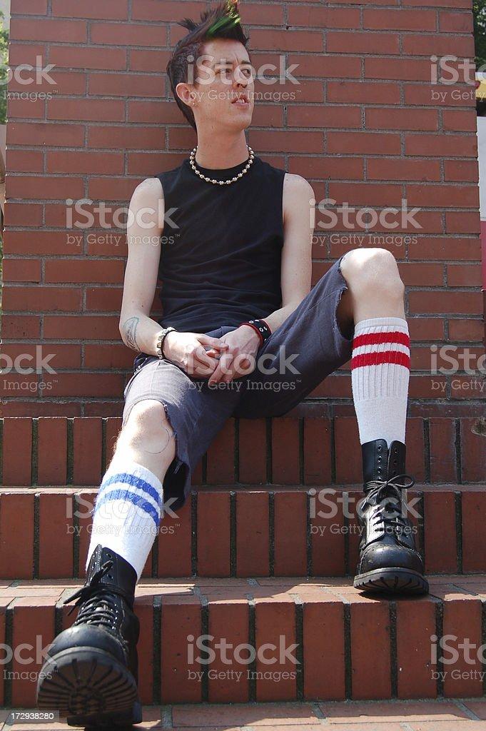 City Punk royalty-free stock photo