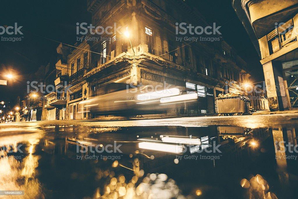 City reflections. stock photo