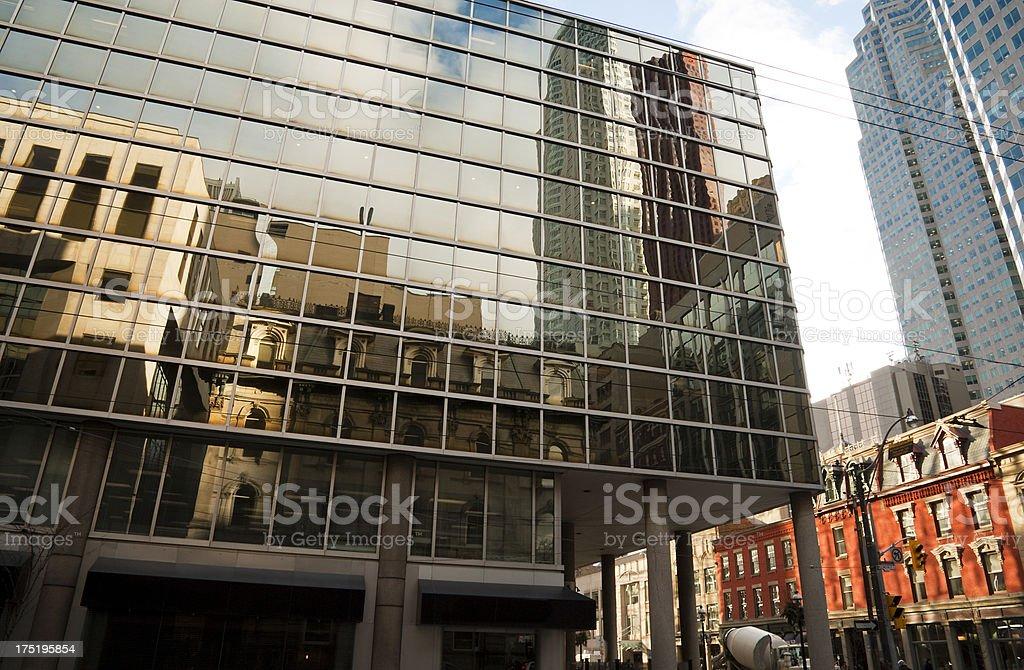 City Reflections royalty-free stock photo
