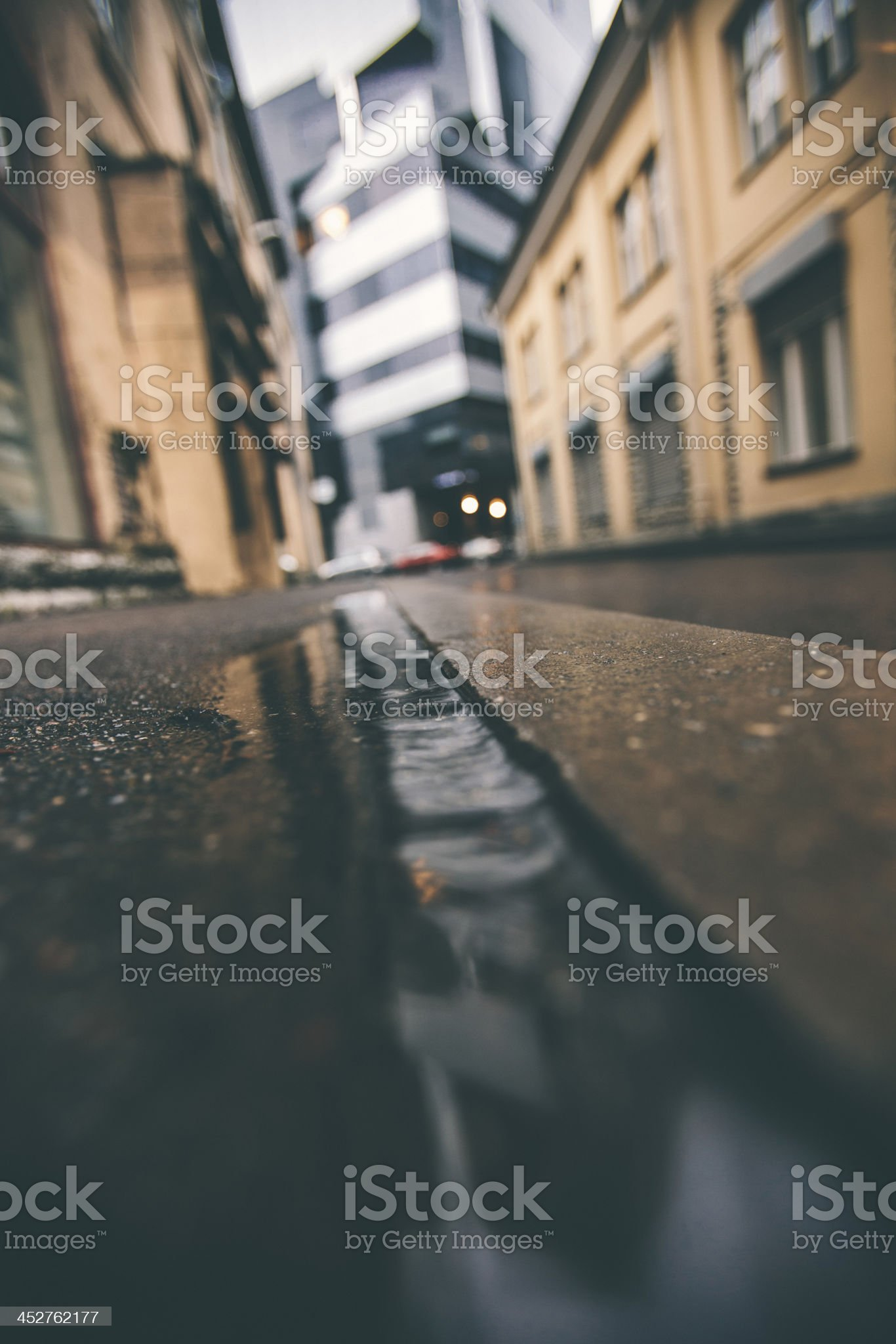 City reflections. royalty-free stock photo