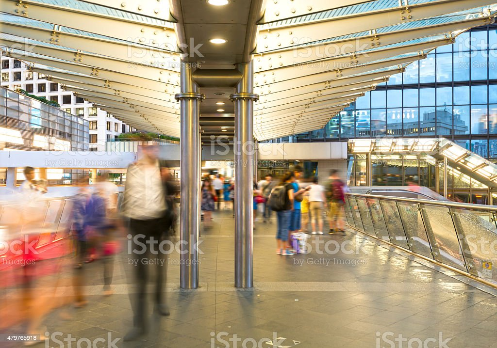 City rhythms--fast, speed. the rush time stock photo