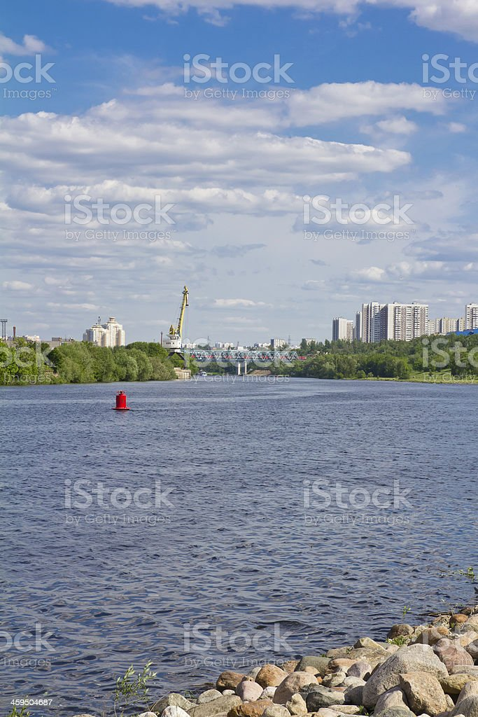 City river royalty-free stock photo