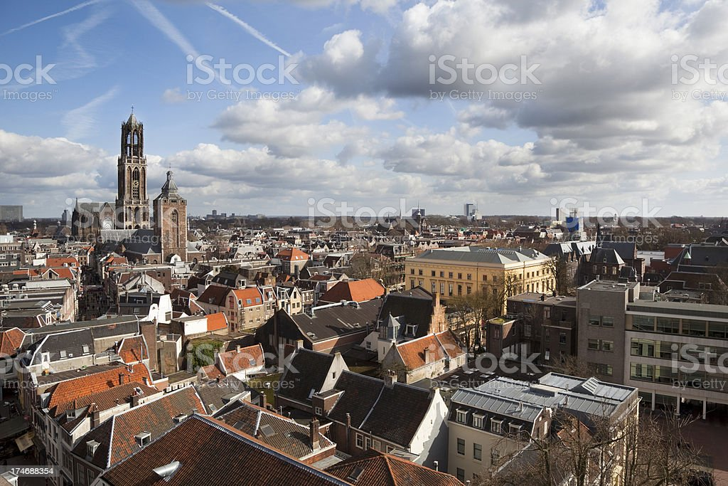 City Rooftops (XXXL) stock photo