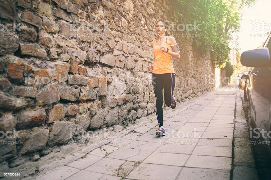 City Running stock photo