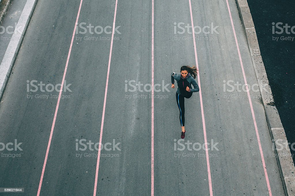 City Running stock photo
