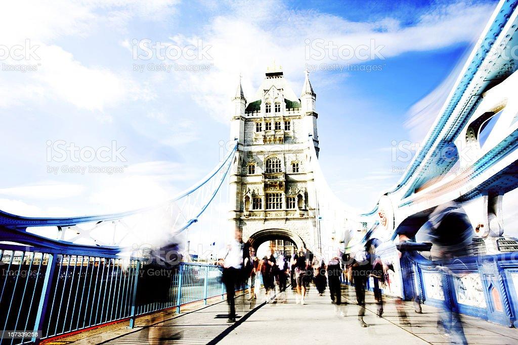 City rush royalty-free stock photo