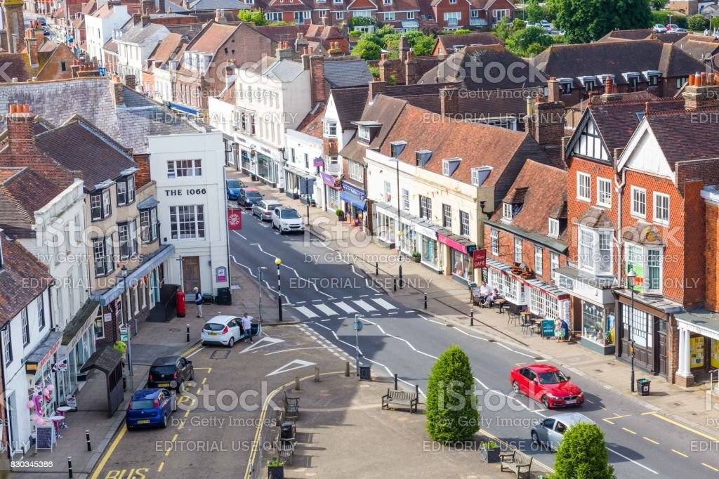 Battle, Sussex, UK - June, 03, 2017: City scape of Batte in Sussex, UK stock photo
