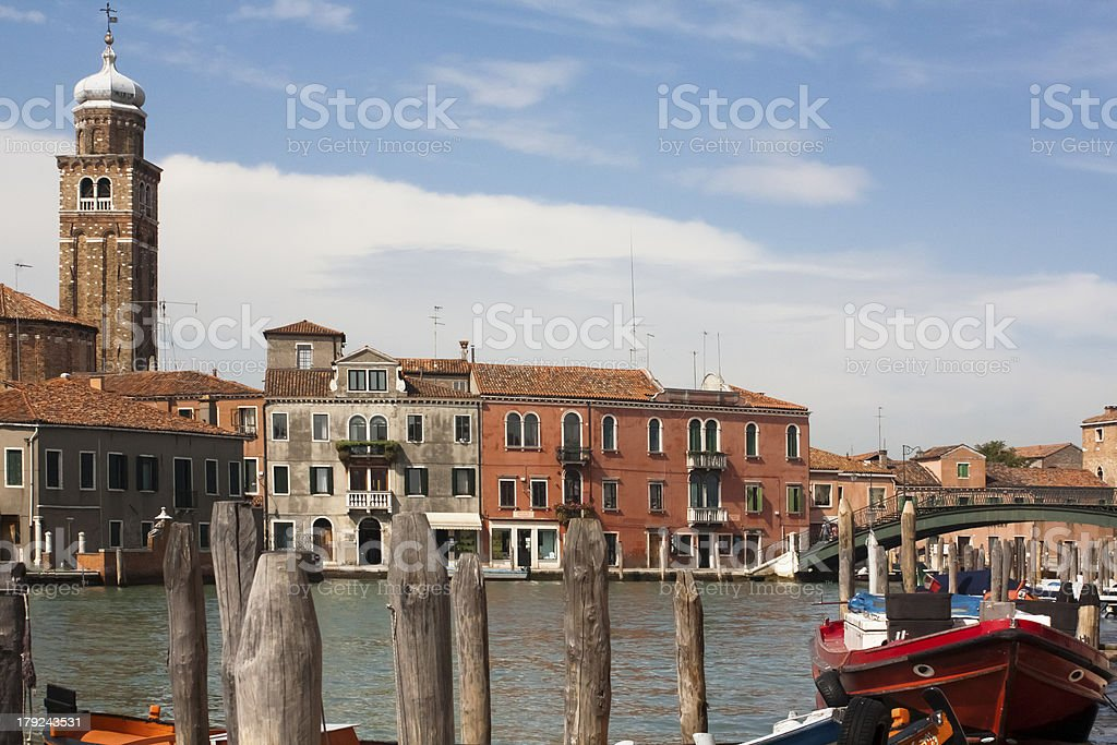 City scape of Murano royalty-free stock photo